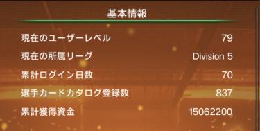 【ウイコレ攻略/日記】70日目の六本木FC