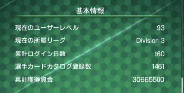 ウイコレ 無課金 初心者攻略/六本木FC ログイン160日目の運営状況(50日からの推移まとめ)